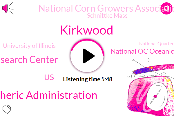 Kirkwood,National Oceanic And Atmospheric Administration,Iowa Soybean Associations Research Center,United States,National Oc Oceanic,National Corn Growers Association,Schnittke Mass,University Of Illinois,National Quarter Always Association,FSA,Iowa,Big Farm,Great Lakes,Pacific,Soil Health Partnership,Ohio Valley