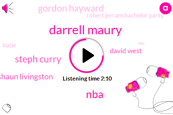 Darrell Maury,NBA,Steph Curry,Shaun Livingston,David West,Gordon Hayward,Robert Jerram Bachelor Party,Katie