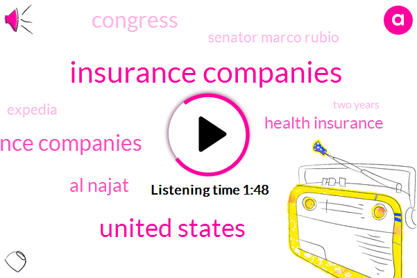 Insurance Companies,United States,Health Insurance Companies,Al Najat,Health Insurance,Congress,Senator Marco Rubio,Expedia,Two Years