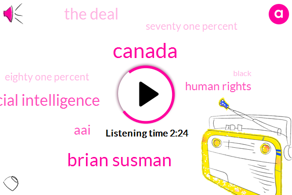 Canada,Brian Susman,Artificial Intelligence,AAI,Human Rights,The Deal,Seventy One Percent,Eighty One Percent