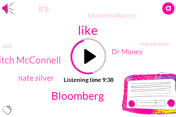 Bloomberg,Mitch Mcconnell,Nate Silver,Dr Money,IRS,Elizabeth Warren,Blair Elizabeth,Jennifer Hudson,Biden,New York City,American Samoa,Senate,Supreme Court,United States,Netflix,Antony Scalia