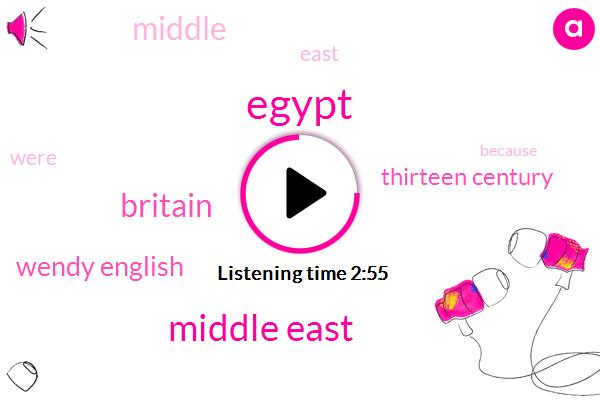 Egypt,Middle East,Britain,Wendy English,Thirteen Century