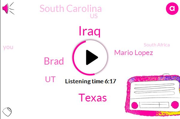 Texas,Iraq,Brad,UT,Mario Lopez,South Carolina,United States,South Africa,Football,Africa,Frank,Austin,Gabriel,Morales,Brian,Benjamin Franklin