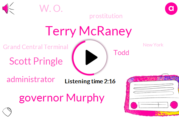 Terry Mcraney,Governor Murphy,Scott Pringle,Administrator,Todd,W. O.,Prostitution,Grand Central Terminal,New York,Monmouth University,Joe Biden,Senator,Senator Bernie Sanders,Attorney,Oklahoma,Johnson,Essex County,Newark,Brooklyn,New York City