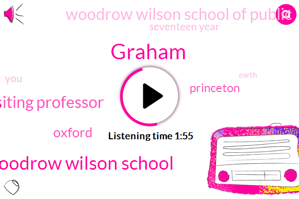 Graham,Woodrow Wilson School,Visiting Professor,Oxford,Princeton,Woodrow Wilson School Of Public,Seventeen Year