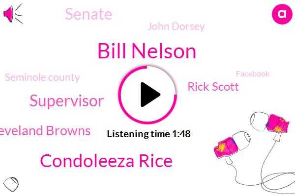 Bill Nelson,Condoleeza Rice,Supervisor,Cleveland Browns,Rick Scott,Senate,John Dorsey,Seminole County,Facebook,United States,NFL,Orange County,Andrew Gillum,Phil Hall,Jags,Ron Santa,Secretary