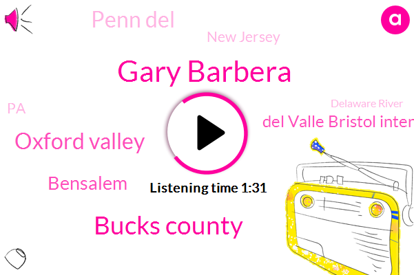 Gary Barbera,Bucks County,Oxford Valley,Bensalem,Del Valle Bristol Interchange,Penn Del,New Jersey,PA,Delaware River,Rams