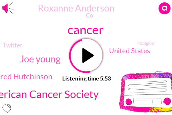 Cancer,American Cancer Society,Joe Young,Fred Hutchinson,United States,Roxanne Anderson,CO,Twitter,Hodgkin,Ritter,Critical Illness,Facebook,VIC,Lincoln,Ninety Nine Years