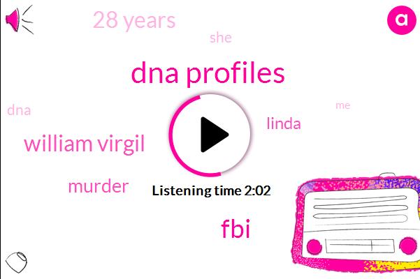 Dna Profiles,FBI,William Virgil,Murder,Linda,28 Years
