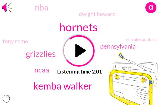 Hornets,Kemba Walker,Grizzlies,Ncaa,Pennsylvania,NBA,Dwight Howard,Tony Romo,Corrales Punta Cana Resort,Twenty Eight Minutes,Fifty Percent