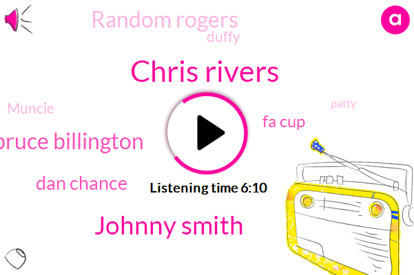 Chris Rivers,Johnny Smith,Bruce Billington,Dan Chance,Fa Cup,Random Rogers,Duffy,Muncie,Southampton,Patty,Mcculloch,Spurs,Wigan,Portsmouth,Asia,St Matthew,MEL,Lester,League Cup