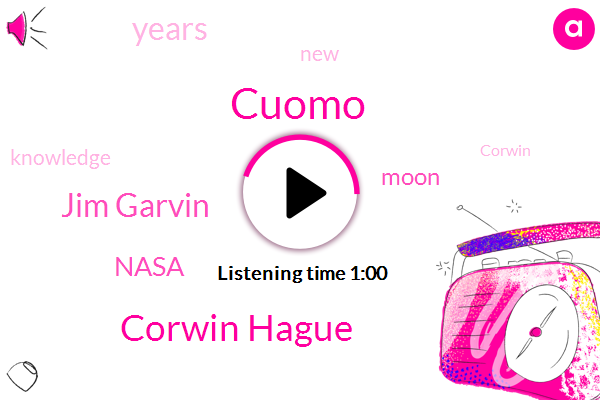 Cuomo,Corwin Hague,Jim Garvin,Nasa,Fifty Years,Ten Years