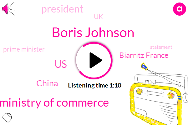 Listen: UK PM Johnson to tell Trump to de-escalate trade tensions