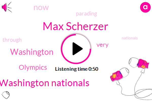 Washington Nationals,Washington,Max Scherzer,Olympics