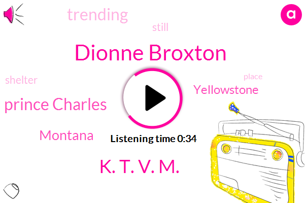 Dionne Broxton,K. T. V. M.,Montana,Yellowstone,Prince Charles