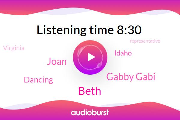 Idaho,Virginia,Beth,AMC,Representative,Gabby Gabi,Joan,Dancing