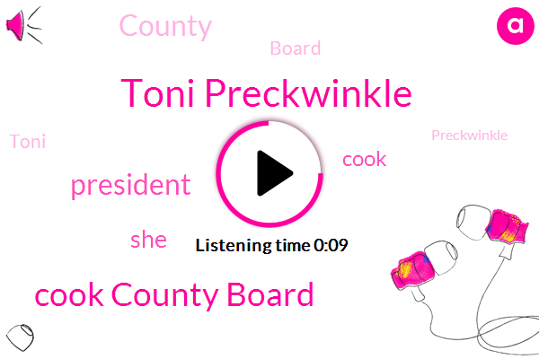 Toni Preckwinkle,Cook County Board,President Trump