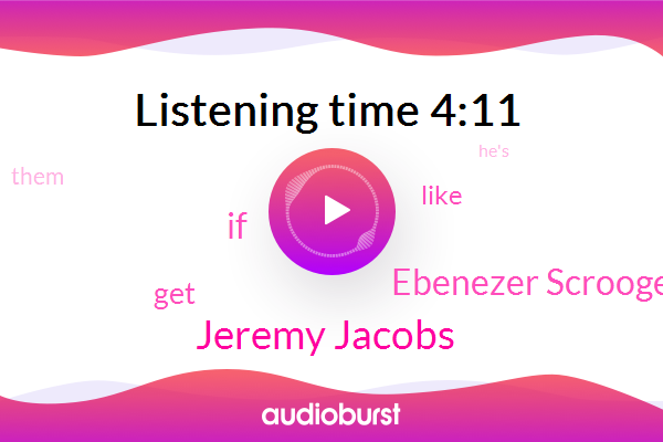 Jeremy Jacobs,Ebenezer Scrooge