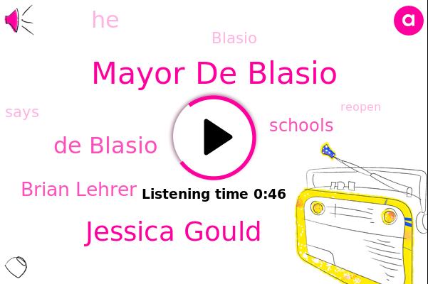 Mayor De Blasio,Jessica Gould,De Blasio,Brian Lehrer