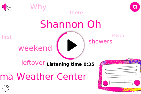 Coma Weather Center,Shannon Oh