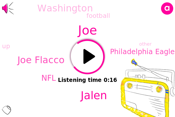 Joe Flacco,Jalen,Philadelphia Eagles,NFL,Football,Washington,JOE