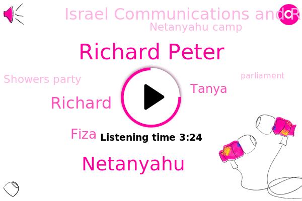 Richard Peter,Israel Communications And Research Center,Israel,Netanyahu Camp,Showers Party,Netanyahu,Parliament,Jerusalem,Richard,Ford,Fiza,Government,Tanya,U.,Sudan,Morocco