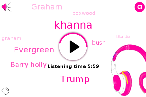 Khanna,Margaret,Donald Trump,Evergreen,Barry Holly,Bush,Graham,Boxwood,Blondie,Winterbourne,Hollies