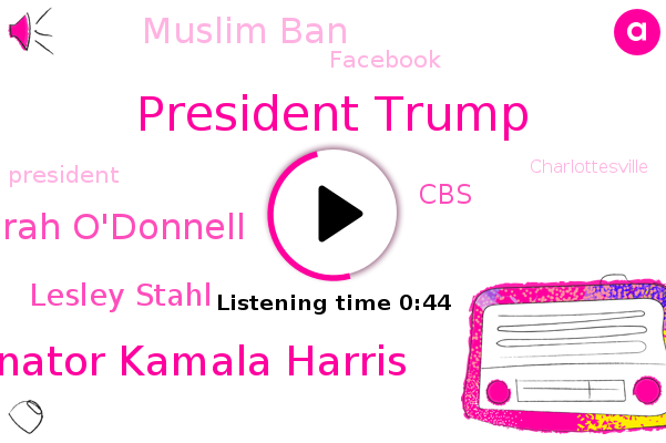 Listen: Kamala Harris lists 'racist' actions by Trump in '60 minutes' interview