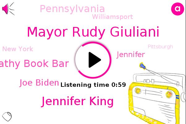Listen: Rudy Giuliani joins Trump campaign's sputtering legal effort in Pennsylvania