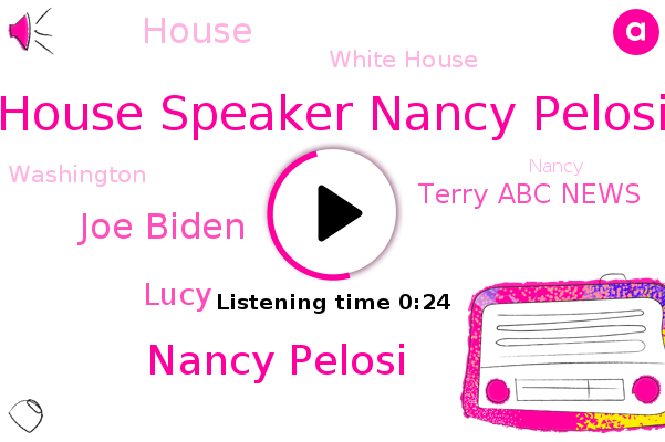House Speaker Nancy Pelosi,Nancy Pelosi,Joe Biden,White House,House,Lucy,Terry Abc News,Washington