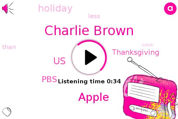 Charlie Brown,PBS,United States,Apple