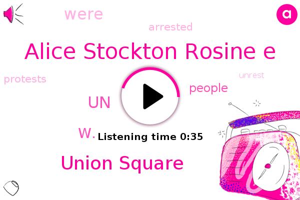 Union Square,UN,Alice Stockton Rosine E,W.