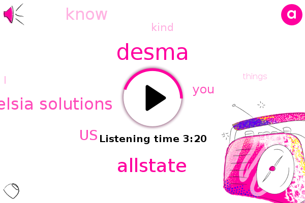 Desma,Allstate,United States,Elsia Solutions