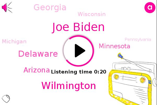 Listen: Joe Biden: 'We believe we're on track to win this election'