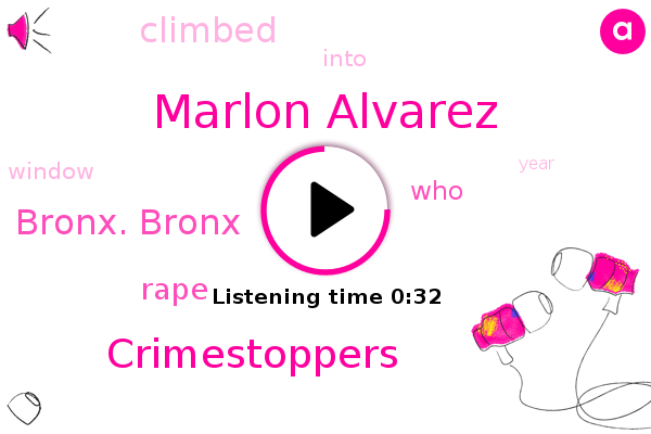 Marlon Alvarez,Bronx. Bronx,Rape,Crimestoppers
