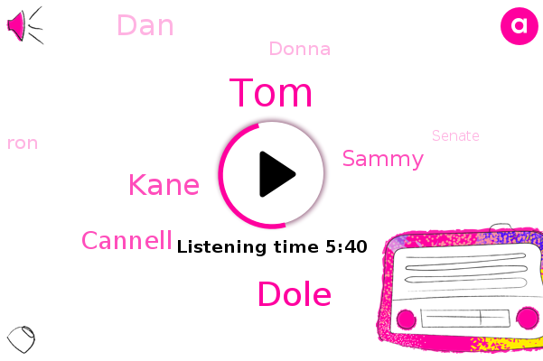 Wanna,TOM,Senate,Dole,Brookhaven,Kane,Cannell,Sammy,DAN,Donna,RON