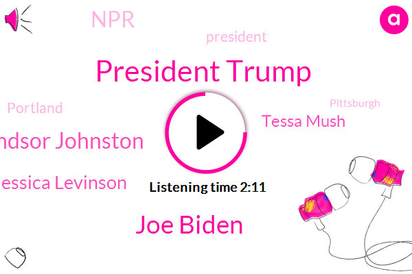 President Trump,Joe Biden,Npr News,Windsor Johnston,Jessica Levinson,NPR,Tessa Mush,Lake Charles,Hurricane Lauren,Portland,Pittsburgh,Louisiana,Pennsylvania,Oregon State