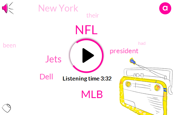 NFL,Jets,MLB,Dell,President Trump,New York