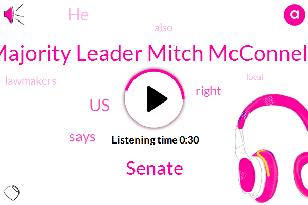 Majority Leader Mitch Mcconnell,Senate,United States