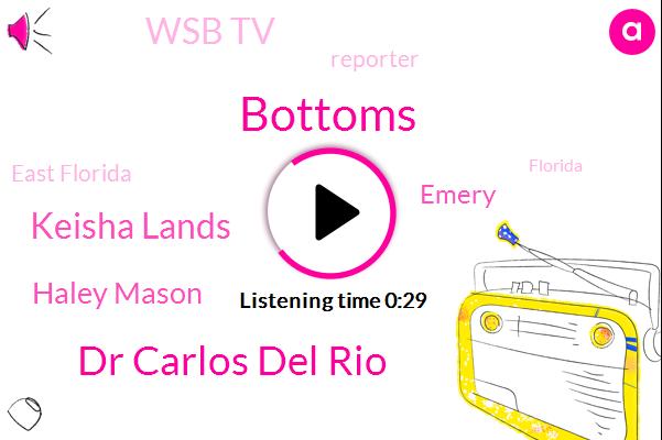 Dr Carlos Del Rio,Keisha Lands,Wsb Tv,Haley Mason,East Florida,Emery,Bottoms,Reporter,Florida,Georgia,Texas