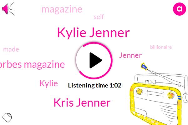 Kylie Jenner,Forbes Magazine,Kris Jenner