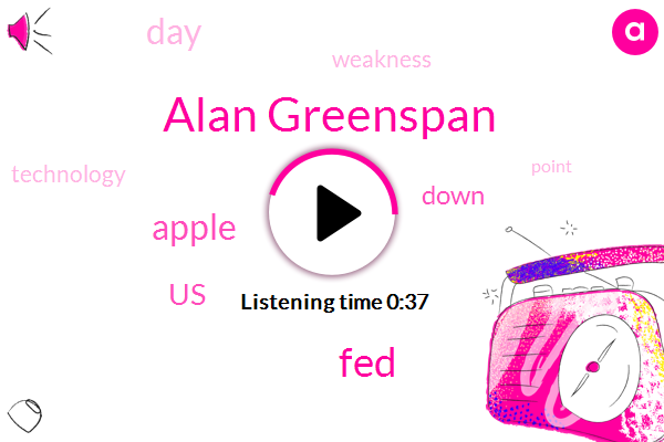 Alan Greenspan,United States,FED,Apple,One Percent,Six Percent