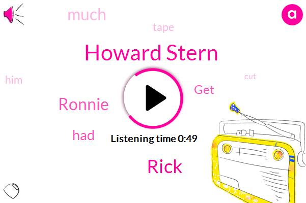 Howard Stern,Rick,Ronnie