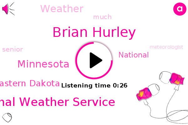 Brian Hurley,Eastern Dakota,National Weather Service,Minnesota