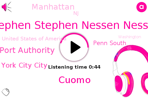 New New York York City City,Stephen Stephen Nessen Nessen,Penn South,Port Authority,Manhattan,NJ,United States Of America,Hudson River,Cuomo,Washington