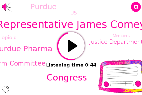 Purdue Pharma,Representative James Comey,House Oversight And Reform Committee,Purdue,Congress,Justice Department,United States