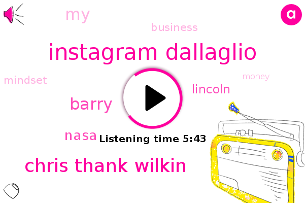 Instagram Dallaglio,Chris Thank Wilkin,Lincoln,Nasa,Barry