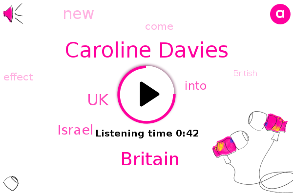 Britain,Caroline Davies,UK,Israel