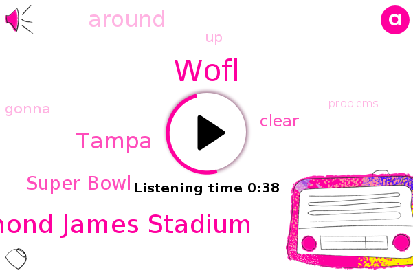 Wofl,Raymond James Stadium,Super Bowl,Tampa