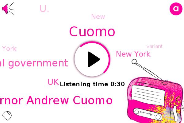 Governor Andrew Cuomo,New York,UK,Cuomo,U.,Federal Government